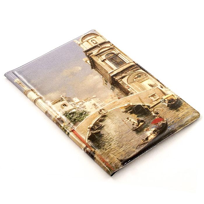 Обложка на паспорт Эврика №276 Венеция. 9650896508Стильные и качественные обложки на паспорт от Эврика с модным принтом или шутливыми надписями сохранят ваши документы и настроение в полном порядке. Удачно подобранный аксессуар способен выгодно подчеркнуть вашу индивидуальность и стать чем-то вроде шутливой визитной карточки. Обложки выполнены из плотного ПВХ. Рисунок нанесен специальным образом и защищен от стирания. Внутренняя сторона черная с мерцающими блестками.