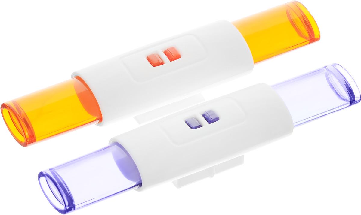 MultiGo Проблесковые маячки27150Если у вашего малыша есть машинки бренда MultiGO, тогда не забудьте и о проблесковых маячках, которые полностью завершат образ спецтехники. С ними игра станет более интересной и яркой. Маячки выполнены из прочного пластика, поэтому прослужат длительное время даже у самого неугомонного ребенка. Специальная система MultiGO позволяет детям легко менять и добавлять различные игровые аксессуары. Одна игрушка легко преобразуется в другую. В комплекте два маячка - оранжевый и синий.