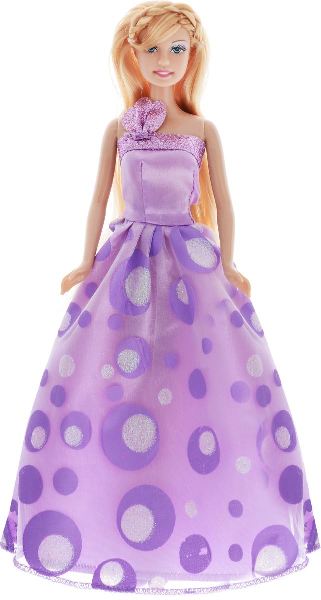 Defa Кукла Lucy Принцесса цвет платья сиреневый8308d_сиреневыйКукла Defa Lucy Принцесса обязательно понравится маленьким девочкам и доставит много часов удовольствия от игры с ней. Кукла готова сразить всех наповал своей красотой! Кукла с длинными светлыми волосами одета в сиреневое платье принцессы, украшенное блестками. На ногах у куколки - сиреневые туфельки. Вашей дочурке непременно понравится расчесывать и заплетать длинные волосы куклы. Игры с куклой способствуют эмоциональному развитию, помогают формировать воображение и художественный вкус, а также разовьют в вашей малышке чувство ответственности и заботы. Великолепное качество исполнения делают эту куколку чудесным подарком к любому празднику.