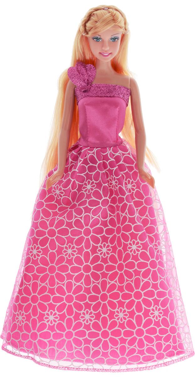 Defa Кукла Lucy Принцесса цвет платья розовый8308d_розовыйКукла Defa Lucy Принцесса обязательно понравится маленьким девочкам и доставит много часов удовольствия от игры с ней. Кукла готова сразить всех наповал своей красотой! Кукла с длинными светлыми волосами одета в розовое платье принцессы, украшенное блестками. На ногах у куколки - розовые туфельки. Вашей дочурке непременно понравится расчесывать и заплетать длинные волосы куклы. Игры с куклой способствуют эмоциональному развитию, помогают формировать воображение и художественный вкус, а также разовьют в вашей малышке чувство ответственности и заботы. Великолепное качество исполнения делают эту куколку чудесным подарком к любому празднику.