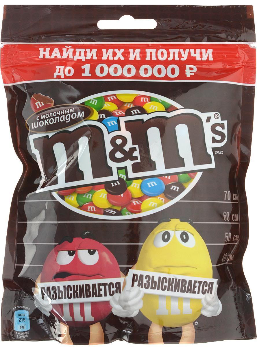 M&Ms драже с молочным шоколадом, 360 г