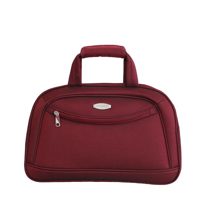 Дорожная сумка Edmins, цвет: бордовый, 46х30х16см213 HF 415*2Максимальная нагрузка 7 кг; используется, как ручная кладь;