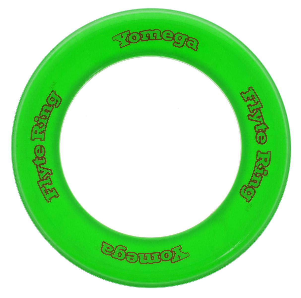 YoMega Летающие кольцо Flyte Ring цвет зеленый608Летающее кольцо YoMega Flyte Ring, разработанное профессионалами имеет уникальный аэродинамические свойства, позволяющие ему лететь долго, легко и с большим подъемом. Все в этом кольце выполнено для удобной и непринужденной игры. Потрясающие аэродинамические характеристики обеспечивают полет кольца на большие дистанции при различных погодных условиях. Кольцо оптимально для удобной игры продвинутыми игроками и новичками. Каждый ребенок будет рад такому яркому и спортивному подарку.