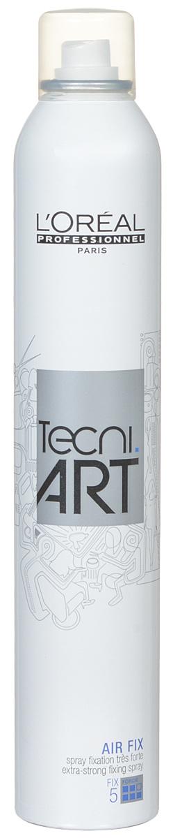 LOreal Professionnel Tecni. art Fix Спрей моментальной супер сильной фиксации (фикс.5) 400 мл