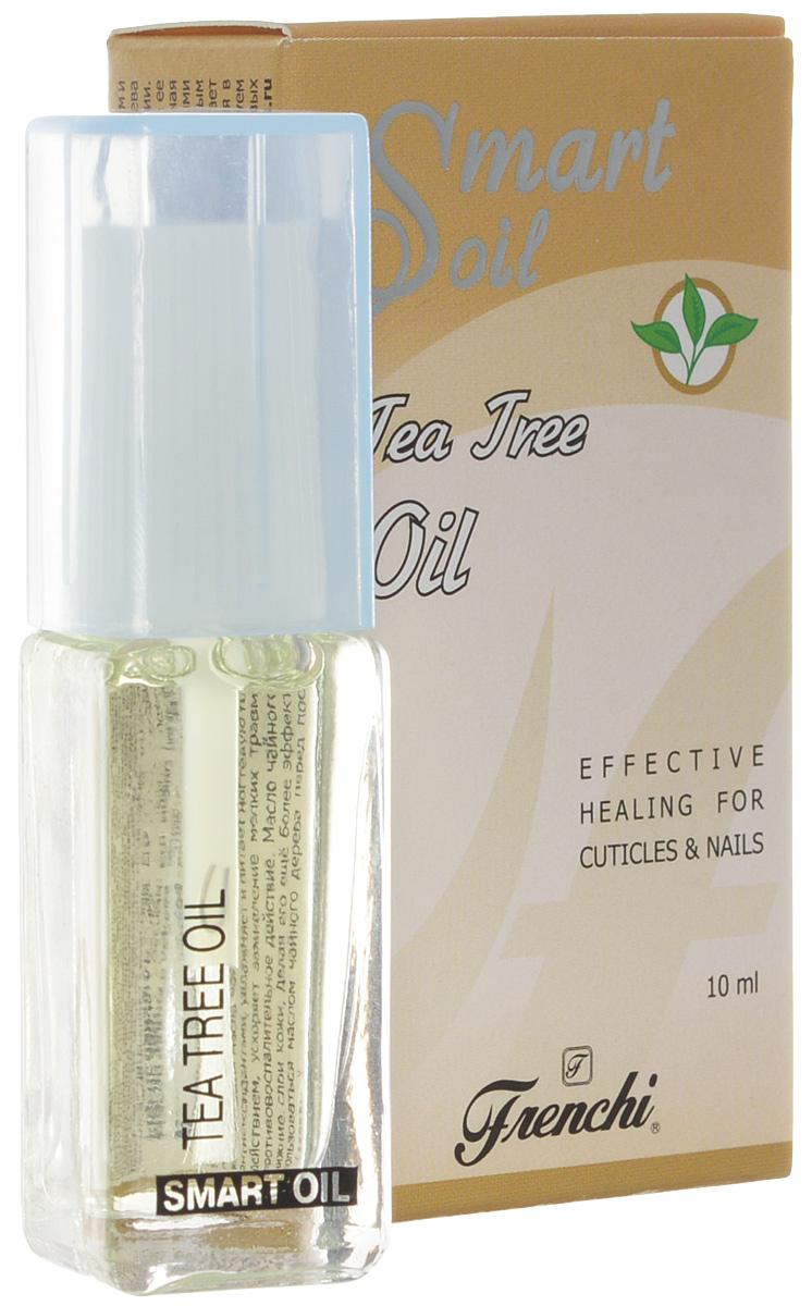 Frenchi Умная эмаль Масло чайного дерева, 10 млУТ00000741Масло чайного дерева является лидером среди всех масел по своим бактерицидным, антисептическим и ранозаживляющим свойствам. Его можно назвать «зеленкой» для ногтей и кутикулы. Масло чайного дерева получают из листьев растения мелалеука, относящегося к семейству миртовых, произрастающего в Австралии. Масло интенсивно увлажняет ногтевую пластину, полноценно питает и смягчает кутикулу, предотвращает ее пересыхание и появление заусенцев, способствует росту крепких здоровых ногтей. Тонко сбалансированная комбинация масла чайного дерева в сочетании с другими маслами, витаминами А и Е, являющимися мощными антиоксидантами, увлажняет и питает ногтевую пластину, обладает регенерирующим и противовоспалительным действием, ускоряет заживление мелких травм в околоногтевой области (заусеницы, порезы), оказывает противовоспалительное действие. Масло чайного дерева обладает способностью глубокого проникновения в нижние слои кожи, делая его ещё более эффективным. В целях профилактики и дезинфекции...
