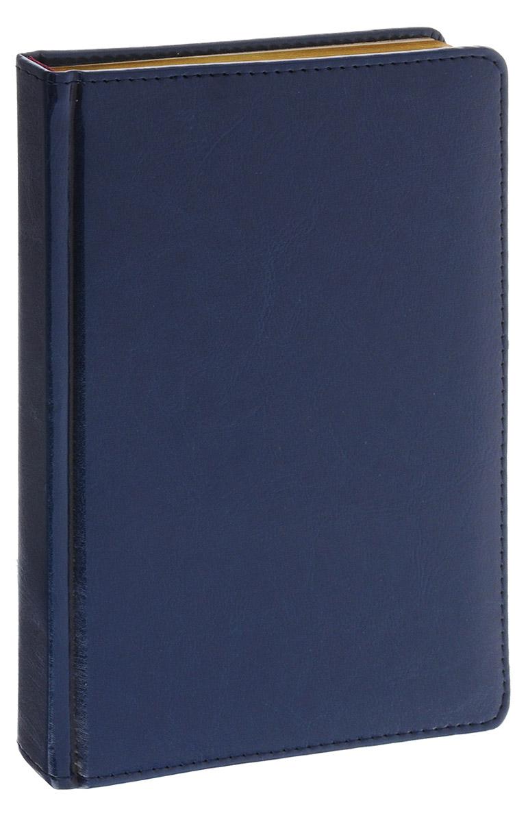 Альт Ежедневник Sidney Nebraska недатированный 136 листов цвет синий