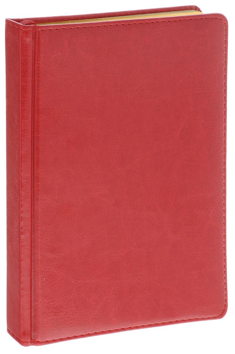 Альт Ежедневник Sidney Nebraska недатированный 136 листов цвет красный