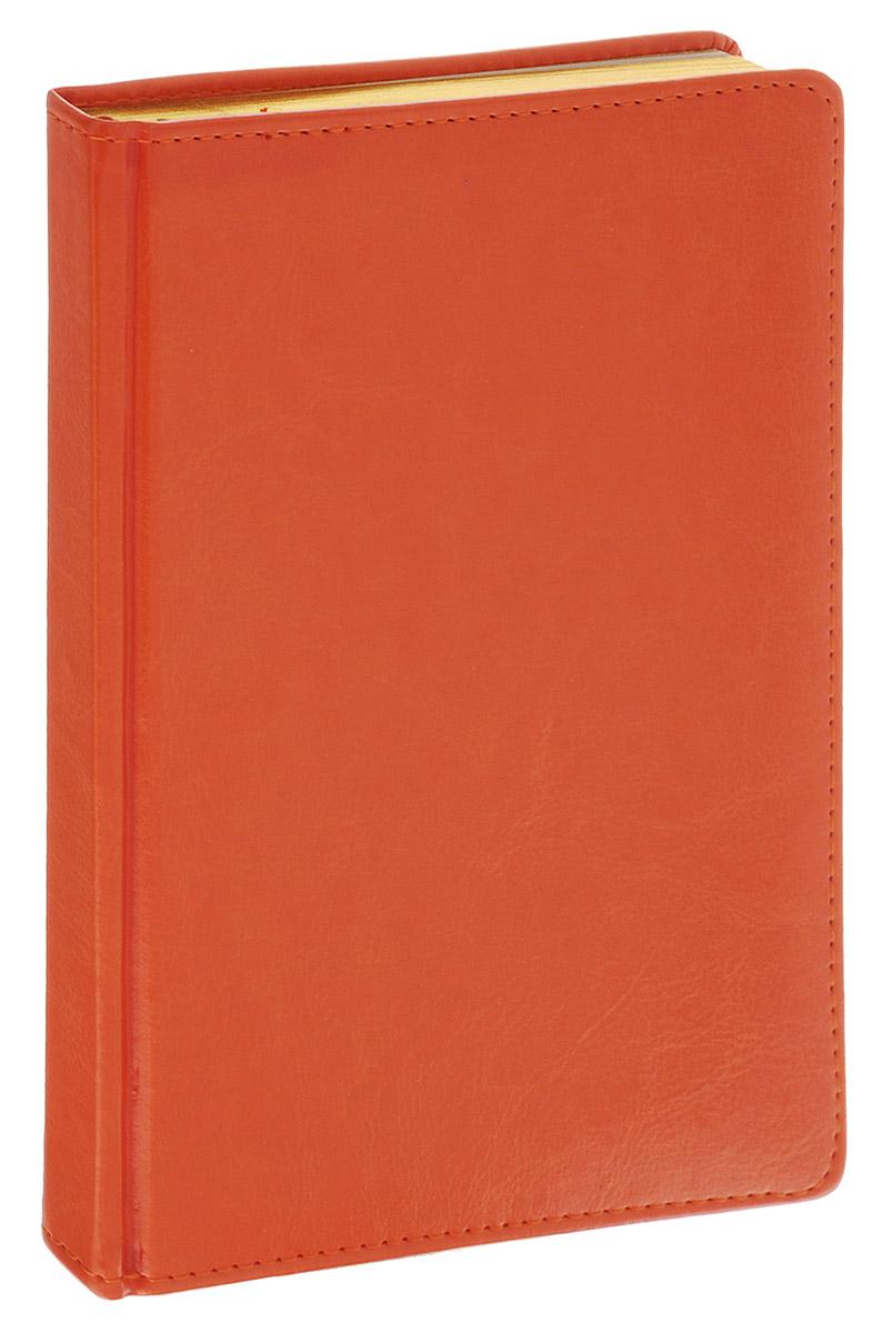 Альт Ежедневник Sidney Nebraska недатированный 136 листов цвет оранжевый