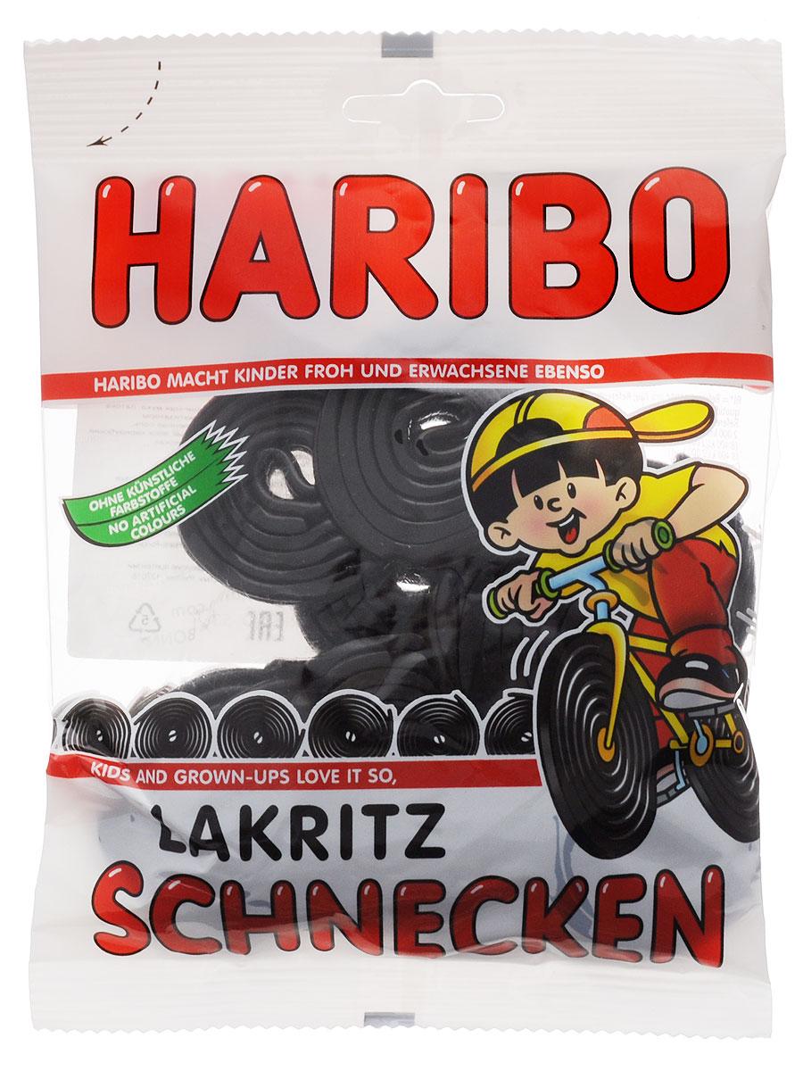 Haribo Лакричные улитки, 200 г