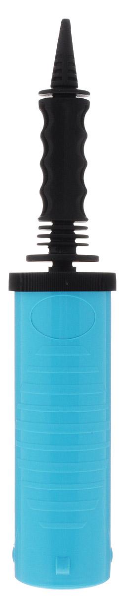 Веселая затея Насос ручной для воздушных шаров цвет голубой