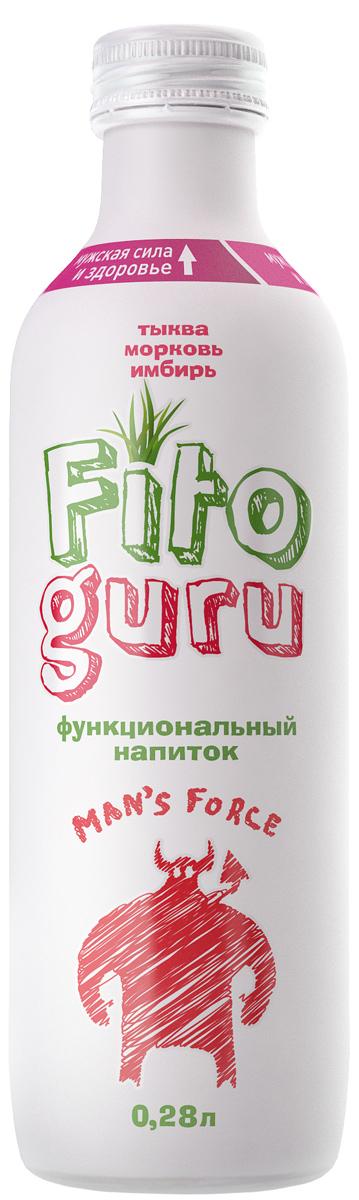 Fitoguru Mans Force Superman тыква, морковь, имбирь, 280 г4680006470043Функциональные напитки FITOGURU восполняют дефицит рациона питания и суточную норму потребления биологически активных веществ от самой природы, необходимых для здоровья взрослого человека. При регулярном употреблении FITOGURU Mans Force укрепляет мужское здоровье; оказывает положительное влияние на общую удовлетворенность мужчин по шкале IIEF (Международный индекс эректильной функции); улучшает показатели оксидантно-антикоксидантной защиты на 14%. Клинически доказано.