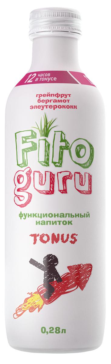 Fitoguru Tonus грейпфрут, бергамот, элеутерококк, 280 мл