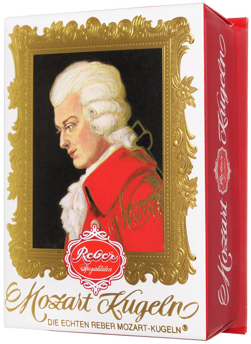 Reber Mozart Kugeln конфеты с горьким и молочным шоколадом, 120 г 1410111