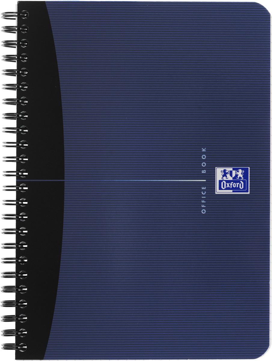 Oxford Тетрадь Essentials 90 листов в клетку цвет синий822566Красивая и практичная тетрадь Oxford Essentials отлично подойдет для школьников, студентов и офисных служащих. Обложка тетради выполнена из плотного, но гибкого ламинированного картона с закругленными краями. Тетрадь формата А5 состоит из 90 белых листов на двойном гребне с линовкой в клетку без полей. Практичное и надежное крепление на гребне позволяет отрывать листы и полностью открывать тетрадь на столе. Тетрадь дополнена съемной закладкой-линейкой из матового полупрозрачного пластика. Высококачественная бумага Optik Paper имеет шелковистую поверхность и высокую белизну, при письме чернила быстро впитываются и не размазываются, надпись не просвечивается с обратной стороны листа. Вне зависимости от профессии и рода деятельности у человека часто возникает потребность сделать какие-либо заметки. Именно поэтому всегда удобно иметь эту тетрадь под рукой, особенно если вы творческая личность и постоянно генерируете новые идеи.