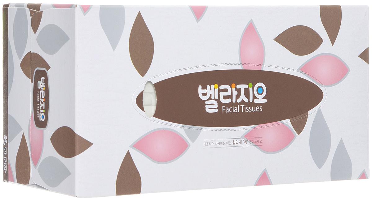 Monalisa Салфетки для лица Bellagio 180шт, цвет: розовый, коричневый