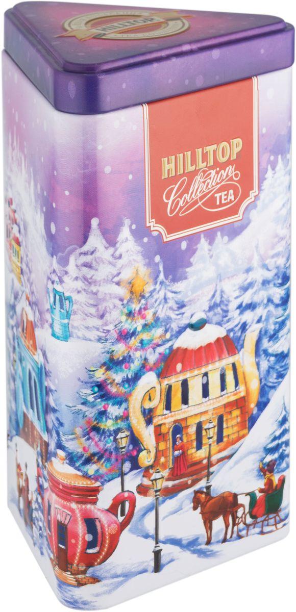 Hilltop Сказочный городок Цейлонское утро черный листовой чай, 80 г4607099306912Hilltop Цейлонское утро - чёрный байховый чай с мягким ароматом и терпко-сладким вкусом. Поставляется в красочной подарочной упаковке. Отлично подойдет в качестве подарка на новогодние праздники.