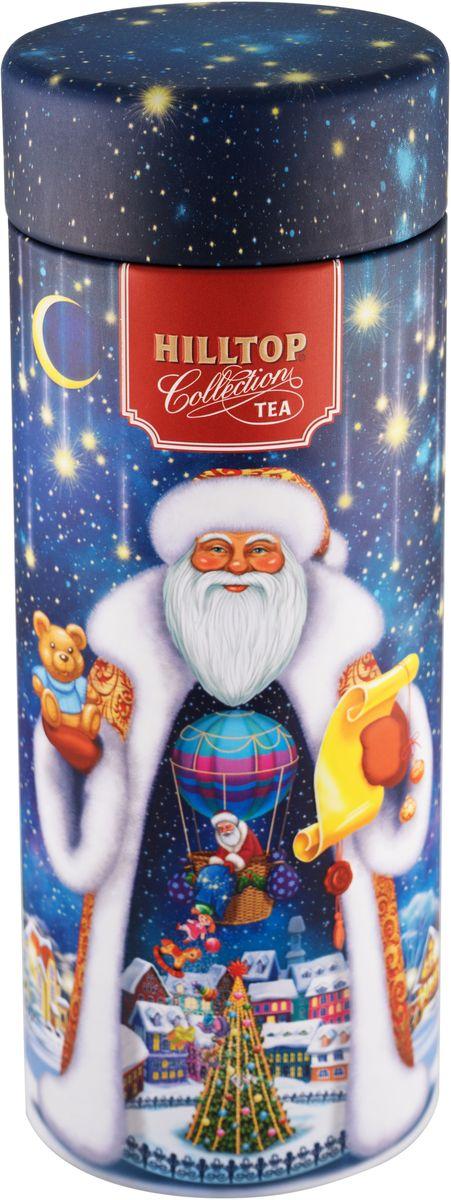 Hilltop Звездная ночь Подарок Цейлона черный листовой чай, 100 г4607099307094Hilltop Звездная ночь Подарок Цейлона - крупнолистовой цейлонский черный чай с глубоким, насыщенным вкусом и изумительным ароматом. Благодаря красивой праздничной упаковке вы можете подарить этот прекрасный чай своим друзьям и близким.
