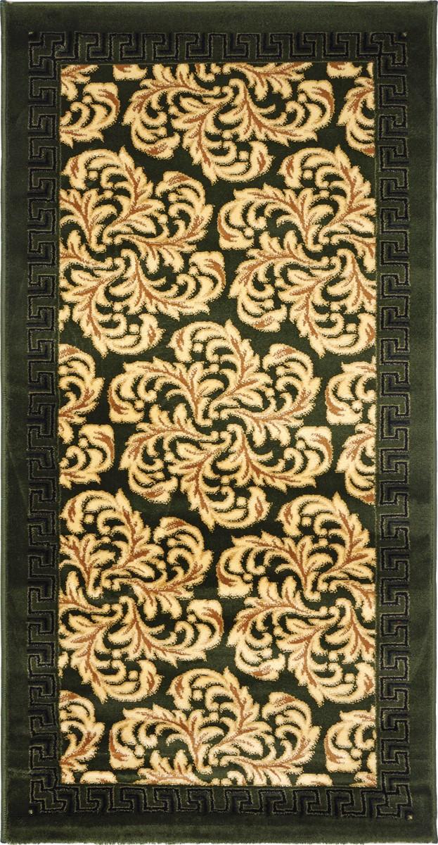 Ковер Kamalak Tekstil, прямоугольный, 80 x 150 см. УК-0292УК-0292Ковер Kamalak Tekstil изготовлен из прочного синтетического материала heat-set, улучшенного варианта полипропилена (эта нить получается в результате его дополнительной обработки). Полипропилен износостоек, нетоксичен, не впитывает влагу, не провоцирует аллергию. Структура волокна в полипропиленовых коврах гладкая, поэтому грязь не будет въедаться и скапливаться на ворсе. Практичный и износоустойчивый ворс не истирается и не накапливает статическое электричество. Ковер обладает хорошими показателями теплостойкости и шумоизоляции. Оригинальный рисунок позволит гармонично оформить интерьер комнаты, гостиной или прихожей. За счет невысокого ворса ковер легко чистить. При надлежащем уходе синтетический ковер прослужит долго, не утратив ни яркости узора, ни блеска ворса, ни упругости. Самый простой способ избавить изделие от грязи - пропылесосить его с обеих сторон (лицевой и изнаночной). Влажная уборка с применением шампуней и...