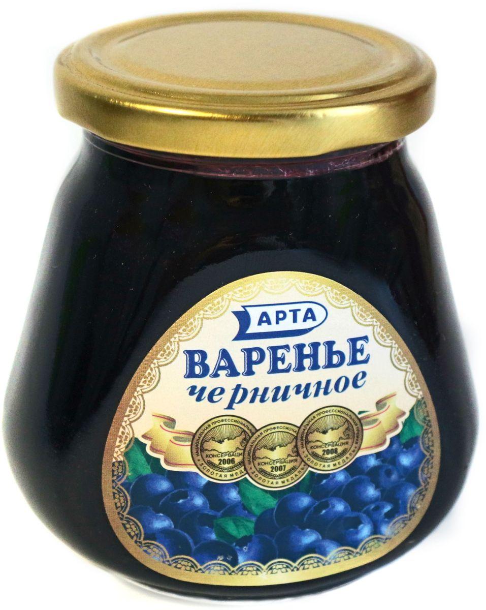 Арта варенье черничное, 340 г