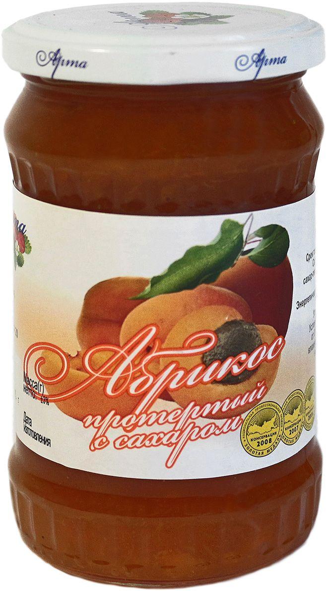 Арта абрикос протертый с сахаром, 350 г