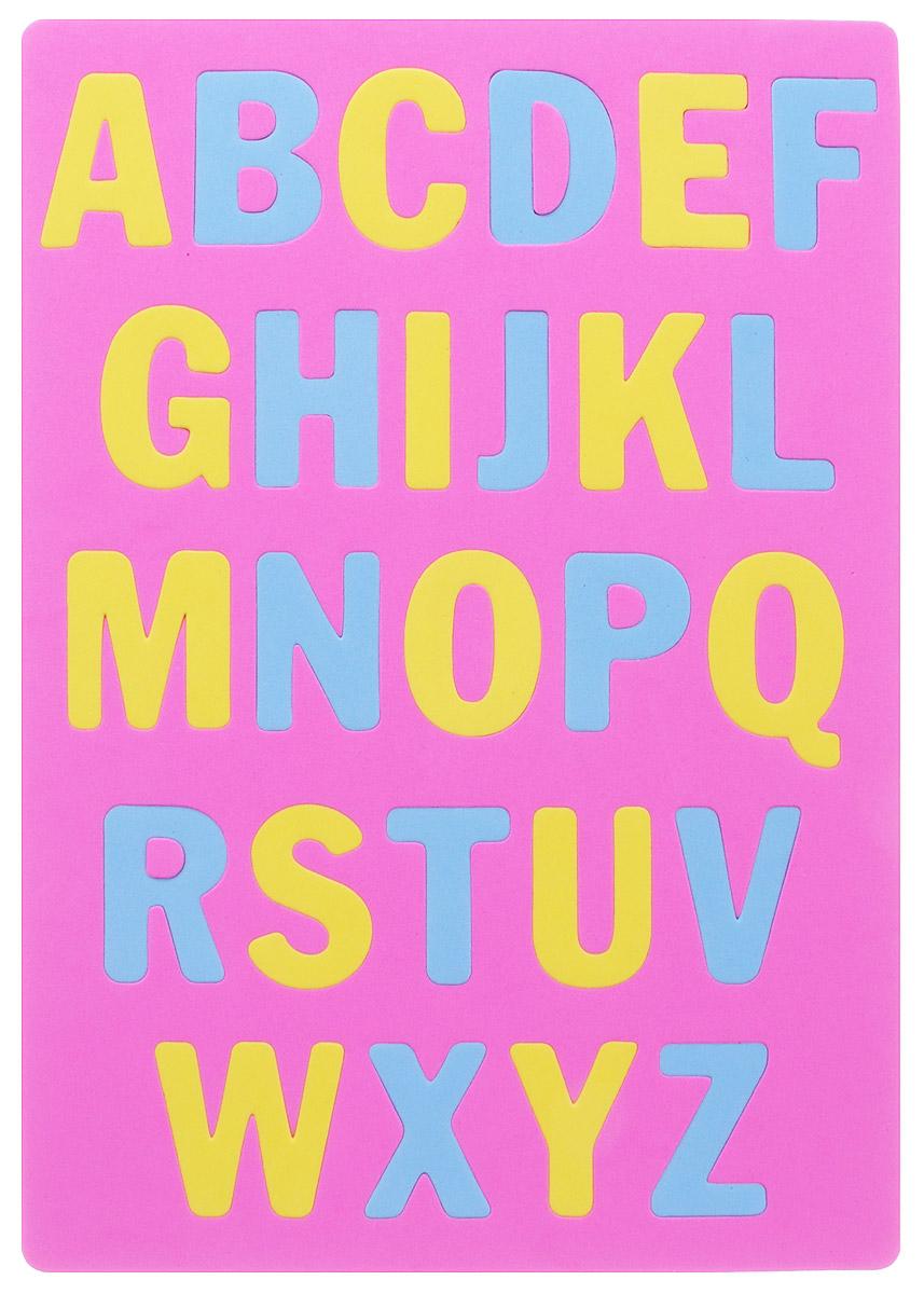 Апплика Мозаика Мягкий английский алфавит цвет основы розовыйС2573-01_розовыйМозаика Апплика Мягкий английский алфавит предназначена для обучения малышей буквам английского языка. Мозаика представляет собой рамку, в которой расположены буквы. Ваш ребенок сможет играть в нее и в ванной. Элементы мозаики можно намочить, благодаря чему они будут хорошо прилипать к стене в ванной комнате. С мозаикой Мягкий английский алфавит обучение английским буквам пройдет весело и увлекательно.