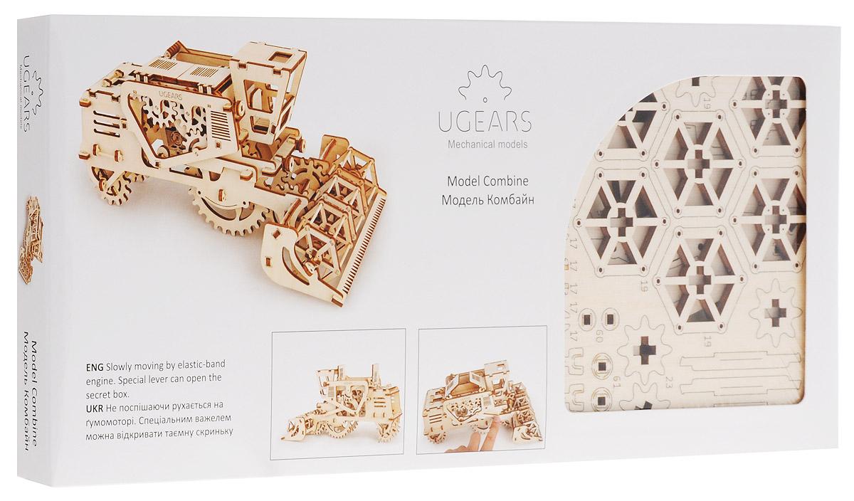 Ugears Деревянная модель Комбайн