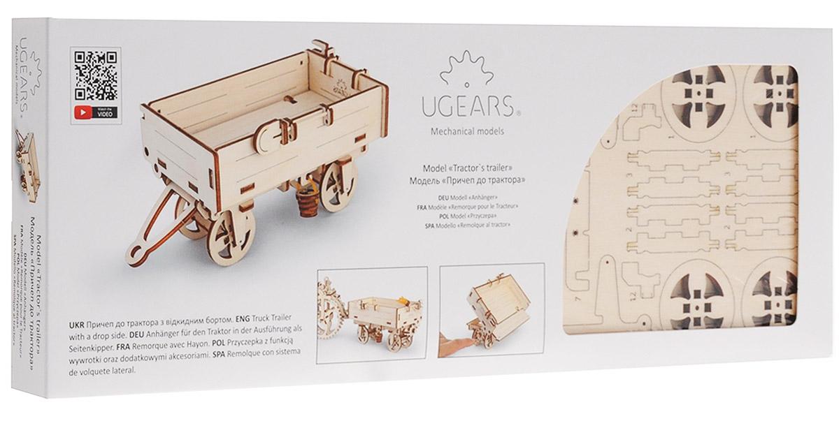 Ugears Деревянная модель Прицеп к трактору