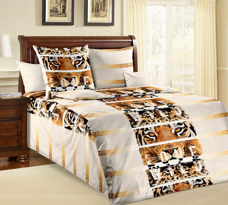 Комплект белья Текс-Дизайн Саванна, 1,5-спальный, наволочки 70x701100АСаванна – это сочетание бежевых оттенков и золотистых орнаментов, реалистичных принтов и оригинального оформления композиции. Это бязевое постельное белье пропитано любовью к дикой природе и воплощает в себе современный стиль. Хищные принты по-прежнему в моде, поэтому купив это постельное белье, вы получите не только оптимальное соотношение цены и качества, но и актуальный дизайн для оформления спальни. Бязь - хлопчатобумажная плотная ткань полотняного переплетения. Отличается прочностью и стойкостью к многочисленным стиркам. Бязь считается одной из наиболее подходящих тканей, для производства постельного белья и пользуется в России большим спросом.