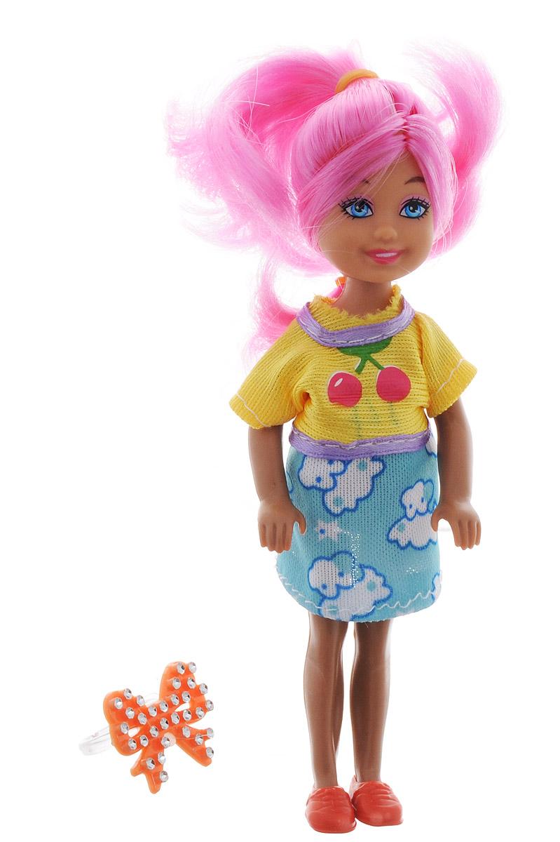 Shantou Мини-кукла Fashion Style цвет волос розовый