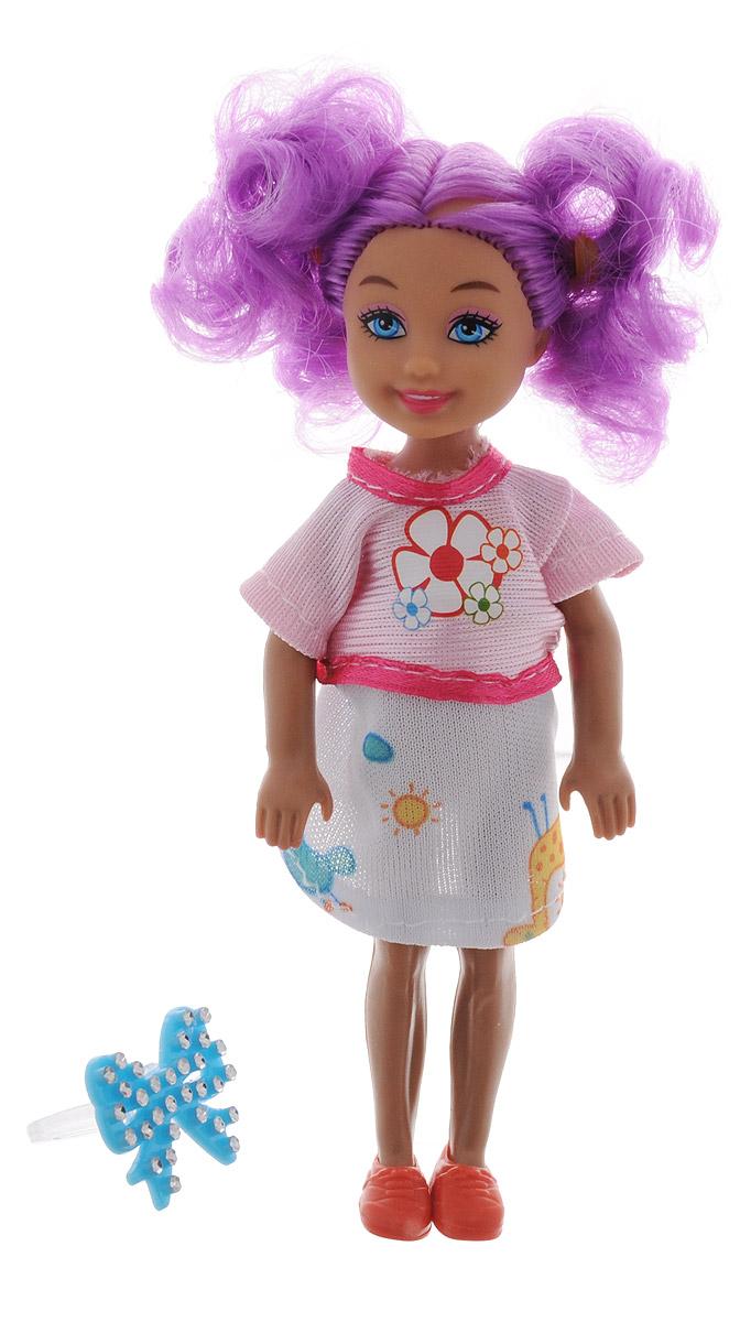 Shantou Мини-кукла Fashion StyleP870-H43278_фиолетовые волосы