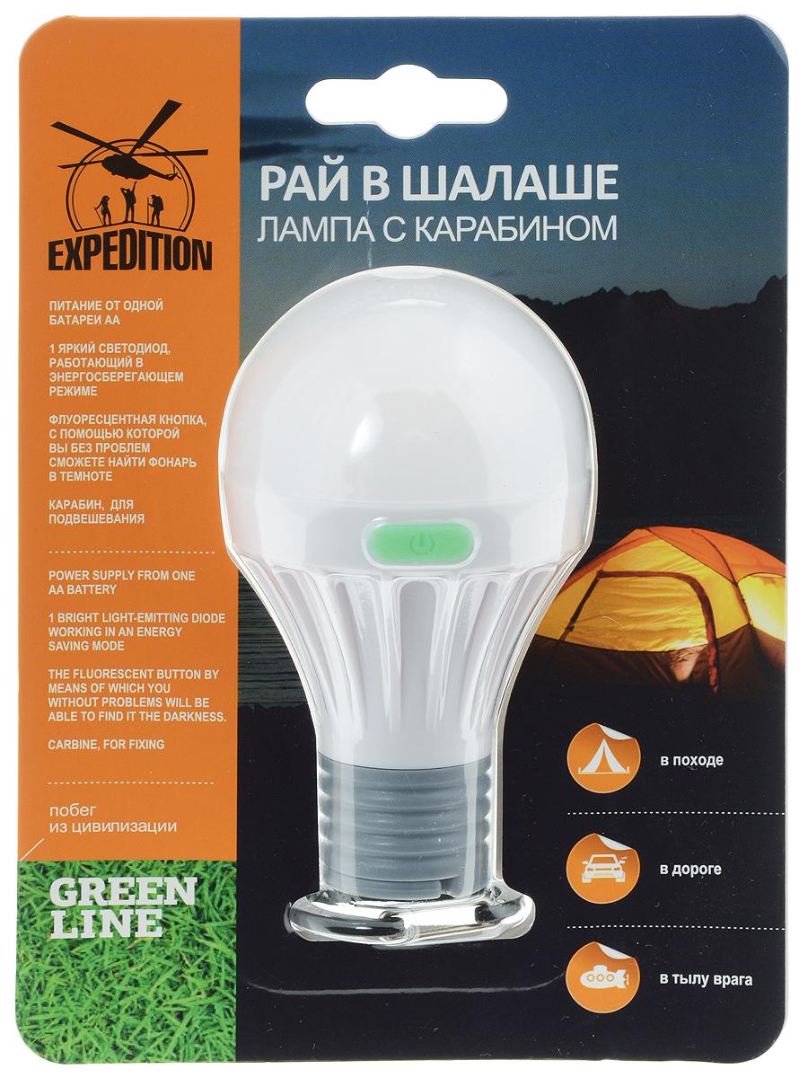 Лампа с карабином Экспедиция