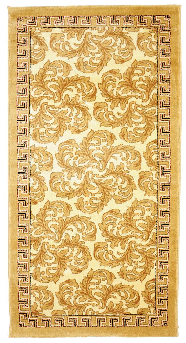 Ковер Kamalak Tekstil, прямоугольный, 80 x 150 см. УК-0286УК-0286Ковер Kamalak Tekstil изготовлен из прочного синтетического материала heat-set, улучшенного варианта полипропилена (эта нить получается в результате его дополнительной обработки). Полипропилен износостоек, нетоксичен, не впитывает влагу, не провоцирует аллергию. Структура волокна в полипропиленовых коврах гладкая, поэтому грязь не будет въедаться и скапливаться на ворсе. Практичный и износоустойчивый ворс не истирается и не накапливает статическое электричество. Ковер обладает хорошими показателями теплостойкости и шумоизоляции. Оригинальный рисунок позволит гармонично оформить интерьер комнаты, гостиной или прихожей. За счет невысокого ворса ковер легко чистить. При надлежащем уходе синтетический ковер прослужит долго, не утратив ни яркости узора, ни блеска ворса, ни упругости. Самый простой способ избавить изделие от грязи - пропылесосить его с обеих сторон (лицевой и изнаночной). Влажная уборка с применением шампуней и моющих средств не противопоказана. ...