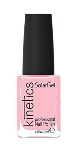 Kinetics Профессиональный лак SolarGel Polish, 15 мл, тон 058KNP058Новое поколение профессиональных гелевых лаков для ногтей, которые наносятся как обычный лак, а выглядят как гель. Ультра модные и классические цвета, поражают своей стойкостью и разнообразием оттенков. Стойкость до 10 дней, не требует специальной сушки в UV/LED лампе. Рекомендуется использовать с верхним покрытием SolarGel Top Coat