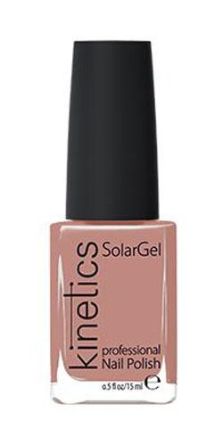Kinetics Профессиональный лак SolarGel Polish, 15 мл, тон 153KNP153Новое поколение профессиональных гелевых лаков для ногтей, которые наносятся как обычный лак, а выглядят как гель. Ультра модные и классические цвета, поражают своей стойкостью и разнообразием оттенков. Стойкость до 10 дней, не требует специальной сушки в UV/LED лампе. Рекомендуется использовать с верхним покрытием SolarGel Top Coat