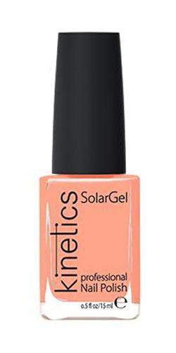 Kinetics Профессиональный лак SolarGel Polish, 15 мл, тон 294KNP294Новое поколение профессиональных гелевых лаков для ногтей, которые наносятся как обычный лак, а выглядят как гель. Ультра модные и классические цвета, поражают своей стойкостью и разнообразием оттенков. Стойкость до 10 дней, не требует специальной сушки в UV/LED лампе. Рекомендуется использовать с верхним покрытием SolarGel Top Coat