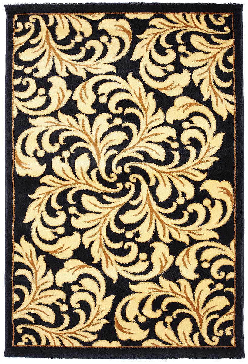 Ковер Kamalak Tekstil, прямоугольный, 100 x 150 см. УК-0302УК-0302Ковер Kamalak Tekstil изготовлен из прочного синтетического материала heat-set, улучшенного варианта полипропилена (эта нить получается в результате его дополнительной обработки). Полипропилен износостоек, нетоксичен, не впитывает влагу, не провоцирует аллергию. Структура волокна в полипропиленовых коврах гладкая, поэтому грязь не будет въедаться и скапливаться на ворсе. Практичный и износоустойчивый ворс не истирается и не накапливает статическое электричество. Ковер обладает хорошими показателями теплостойкости и шумоизоляции. Оригинальный рисунок позволит гармонично оформить интерьер комнаты, гостиной или прихожей. За счет невысокого ворса ковер легко чистить. При надлежащем уходе синтетический ковер прослужит долго, не утратив ни яркости узора, ни блеска ворса, ни упругости. Самый простой способ избавить изделие от грязи - пропылесосить его с обеих сторон (лицевой и изнаночной). Влажная уборка с применением шампуней и...