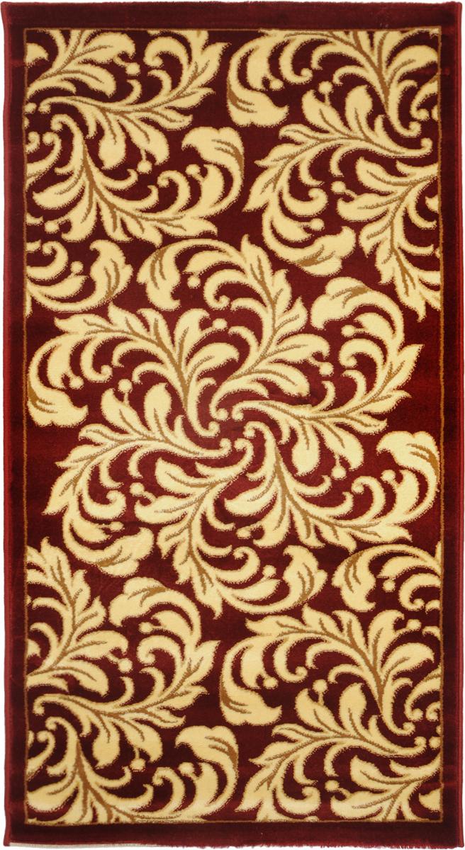 Ковер Kamalak Tekstil, прямоугольный, 80 x 150 см. УК-0328УК-0328Ковер Kamalak Tekstil изготовлен из прочного синтетического материала heat-set, улучшенного варианта полипропилена (эта нить получается в результате его дополнительной обработки). Полипропилен износостоек, нетоксичен, не впитывает влагу, не провоцирует аллергию. Структура волокна в полипропиленовых коврах гладкая, поэтому грязь не будет въедаться и скапливаться на ворсе. Практичный и износоустойчивый ворс не истирается и не накапливает статическое электричество. Ковер обладает хорошими показателями теплостойкости и шумоизоляции. Оригинальный рисунок позволит гармонично оформить интерьер комнаты, гостиной или прихожей. За счет невысокого ворса ковер легко чистить. При надлежащем уходе синтетический ковер прослужит долго, не утратив ни яркости узора, ни блеска ворса, ни упругости. Самый простой способ избавить изделие от грязи - пропылесосить его с обеих сторон (лицевой и изнаночной). Влажная уборка с применением шампуней и...