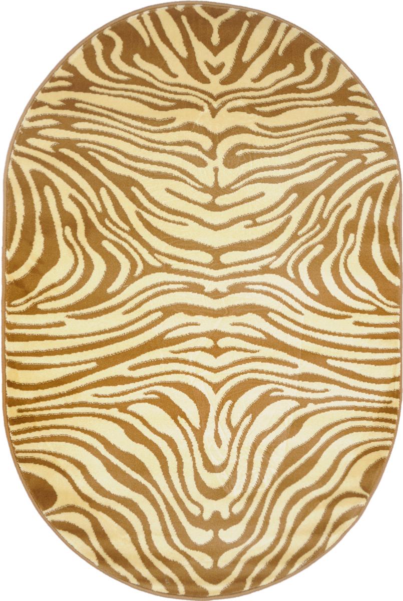 Ковер Kamalak Tekstil, овальный, 100 x 150 см. УК-0039УК-0039Ковер Kamalak Tekstil изготовлен из прочного синтетического материала heat-set, улучшенного варианта полипропилена (эта нить получается в результате его дополнительной обработки). Полипропилен износостоек, нетоксичен, не впитывает влагу, не провоцирует аллергию. Структура волокна в полипропиленовых коврах гладкая, поэтому грязь не будет въедаться и скапливаться на ворсе. Практичный и износоустойчивый ворс не истирается и не накапливает статическое электричество. Ковер обладает хорошими показателями теплостойкости и шумоизоляции. Оригинальный рисунок позволит гармонично оформить интерьер комнаты, гостиной или прихожей. За счет невысокого ворса ковер легко чистить. При надлежащем уходе синтетический ковер прослужит долго, не утратив ни яркости узора, ни блеска ворса, ни упругости. Самый простой способ избавить изделие от грязи - пропылесосить его с обеих сторон (лицевой и изнаночной). Влажная уборка с применением шампуней и...