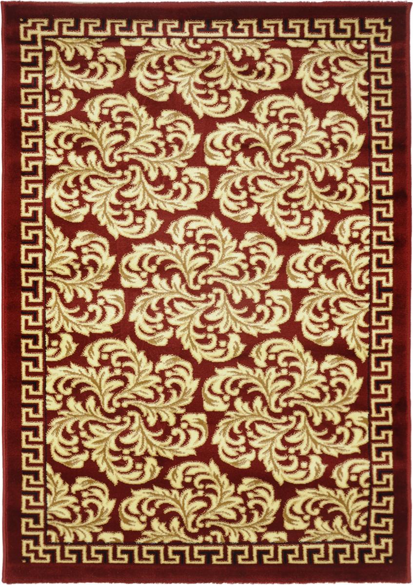 Ковер Kamalak Tekstil, прямоугольный, 100 x 150 см. УК-0296УК-0296Ковер Kamalak Tekstil изготовлен из прочного синтетического материала heat-set, улучшенного варианта полипропилена (эта нить получается в результате его дополнительной обработки). Полипропилен износостоек, нетоксичен, не впитывает влагу, не провоцирует аллергию. Структура волокна в полипропиленовых коврах гладкая, поэтому грязь не будет въедаться и скапливаться на ворсе. Практичный и износоустойчивый ворс не истирается и не накапливает статическое электричество. Ковер обладает хорошими показателями теплостойкости и шумоизоляции. Оригинальный рисунок позволит гармонично оформить интерьер комнаты, гостиной или прихожей. За счет невысокого ворса ковер легко чистить. При надлежащем уходе синтетический ковер прослужит долго, не утратив ни яркости узора, ни блеска ворса, ни упругости. Самый простой способ избавить изделие от грязи - пропылесосить его с обеих сторон (лицевой и изнаночной). Влажная уборка с применением шампуней и...