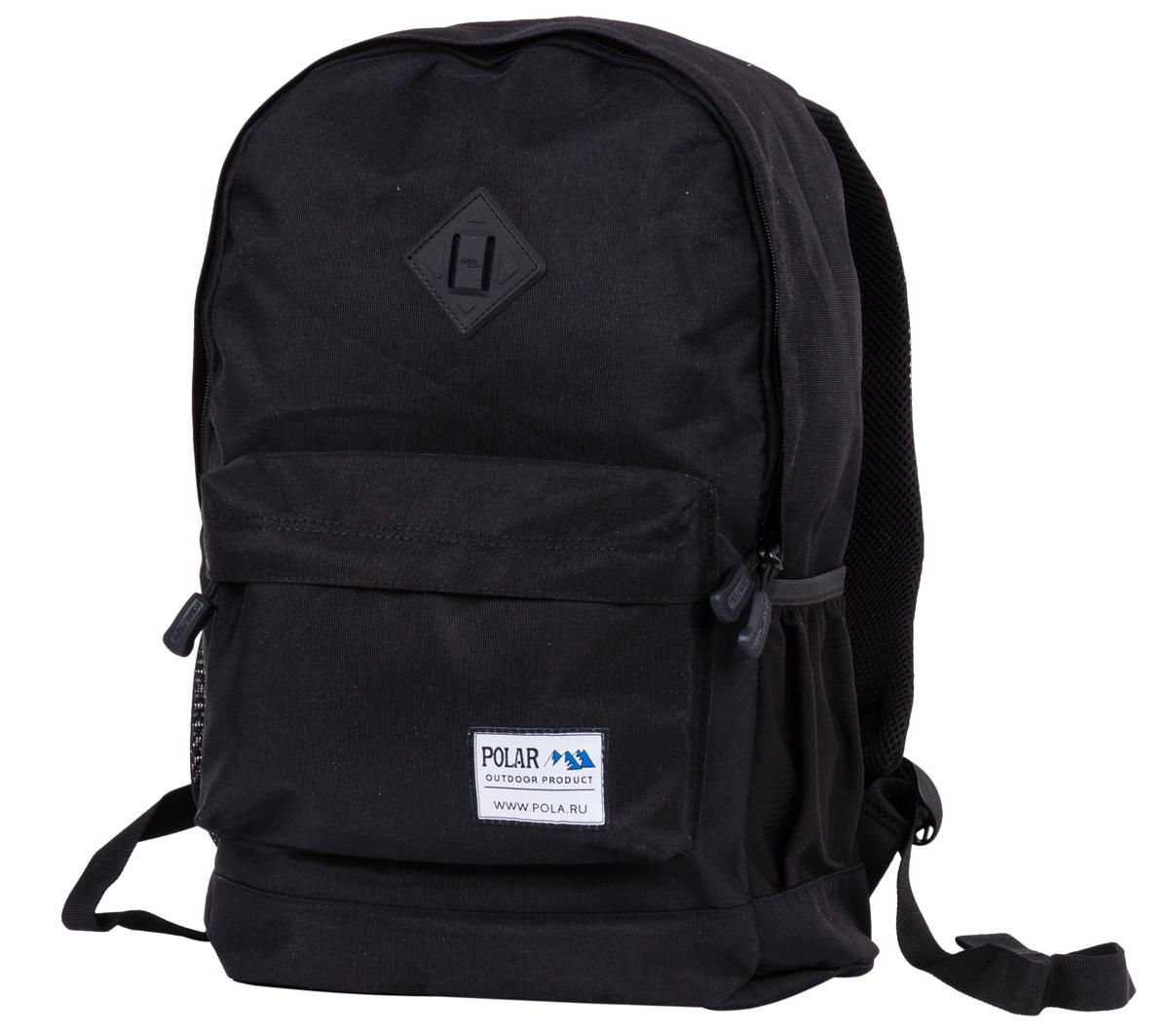 Рюкзак городской Polar, цвет: черный. 22,5л. 15008