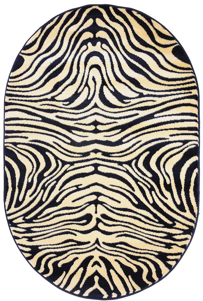 Ковер Kamalak Tekstil, овальный, 100 x 150 см. УК-0033УК-0033Ковер Kamalak Tekstil изготовлен из прочного синтетического материала heat-set, улучшенного варианта полипропилена (эта нить получается в результате его дополнительной обработки). Полипропилен износостоек, нетоксичен, не впитывает влагу, не провоцирует аллергию. Структура волокна в полипропиленовых коврах гладкая, поэтому грязь не будет въедаться и скапливаться на ворсе. Практичный и износоустойчивый ворс не истирается и не накапливает статическое электричество. Ковер обладает хорошими показателями теплостойкости и шумоизоляции. Оригинальный рисунок позволит гармонично оформить интерьер комнаты, гостиной или прихожей. За счет невысокого ворса ковер легко чистить. При надлежащем уходе синтетический ковер прослужит долго, не утратив ни яркости узора, ни блеска ворса, ни упругости. Самый простой способ избавить изделие от грязи - пропылесосить его с обеих сторон (лицевой и изнаночной). Влажная уборка с применением шампуней и...