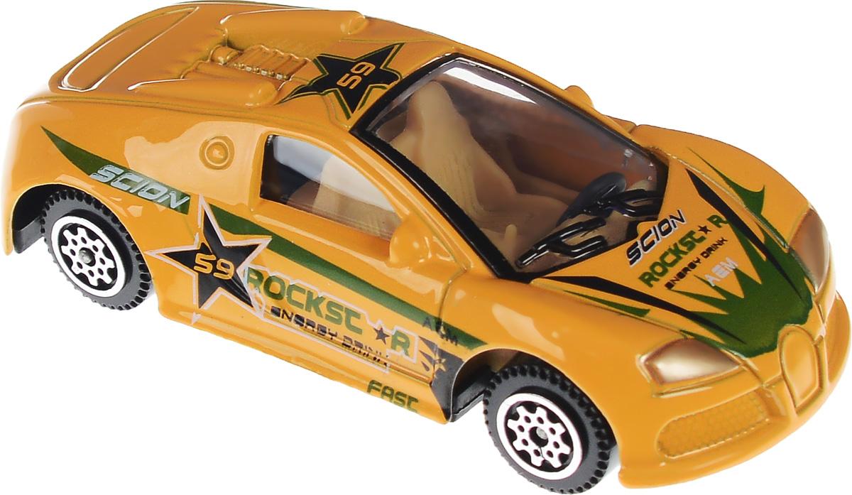 Shantou Машинка Pocket Car цвет оранжевый