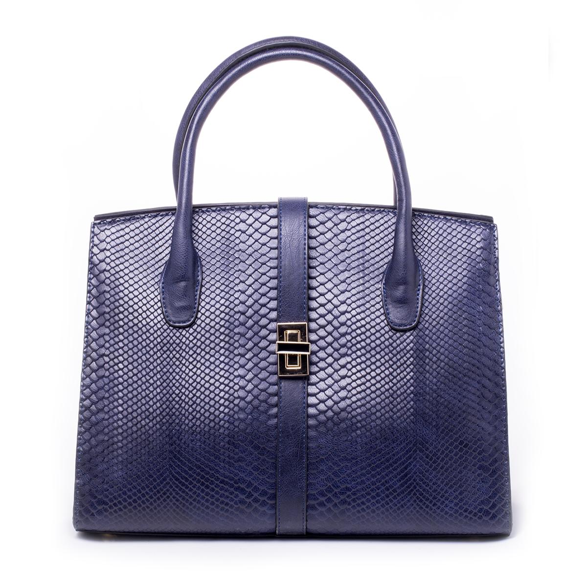 Сумка женская Baggini, цвет: синий. 29821/4329821/43Загрязнения на изделиях удаляется влажной мягкой тканью