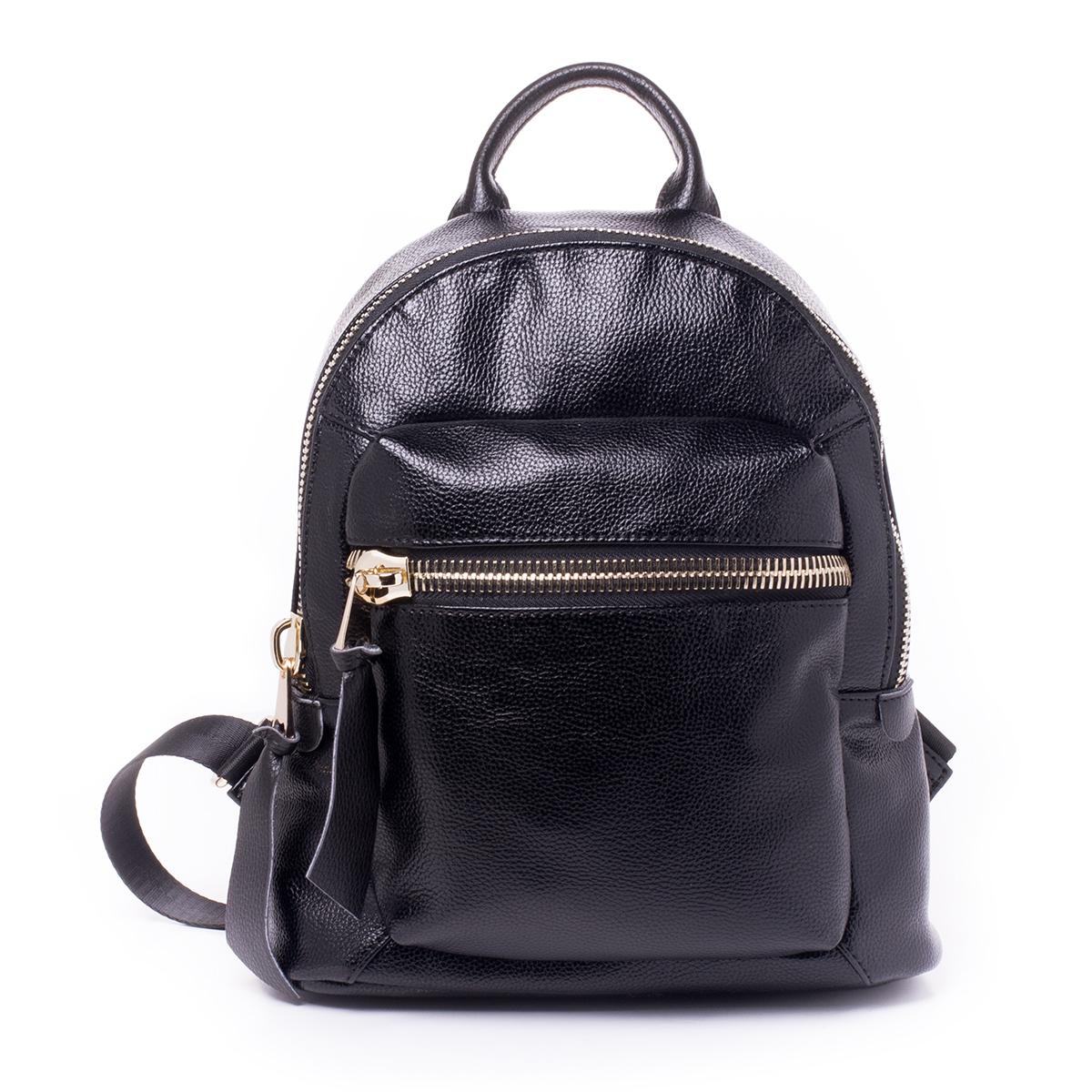 Рюкзак женский Baggini, цвет: черный. 29837/1029837/10Загрязнения на изделиях удаляется влажной мягкой тканью