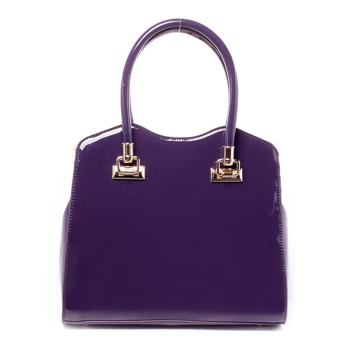 Сумка женская Baggini, цвет: фиолетовый. 35111/4535111/45Загрязнения на изделиях удаляется влажной мягкой тканью