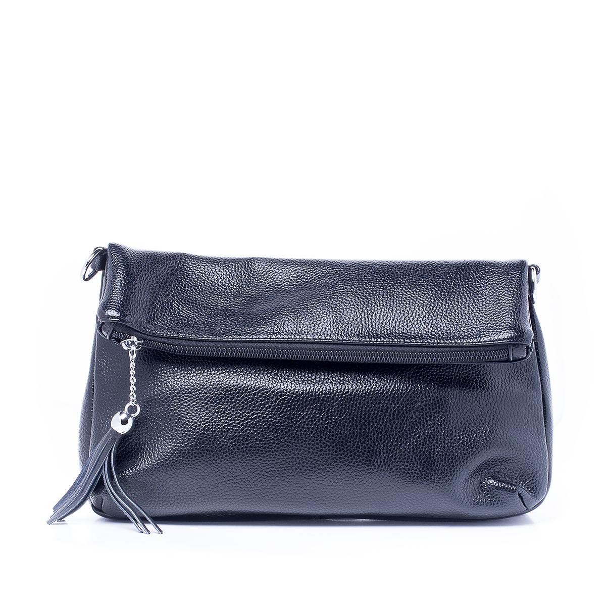 Сумка женская Renee Kler, цвет: черный. RK512-01RK512-01Стильная женская сумка Renee Kler изготовлена из искусственной кожи. Изделие имеет одно основное отделение, которое закрывается на застежку-молнию. Внутри расположены два накладных открытых кармана и прорезной карман на застежке-молнии. Снаружи, на задней стенке находится прорезной карман на застежке-молнии. Сумка оснащена съемным регулируемым плечевым ремнем. Роскошная сумка внесет элегантные нотки в ваш образ и подчеркнет ваше отменное чувство стиля.