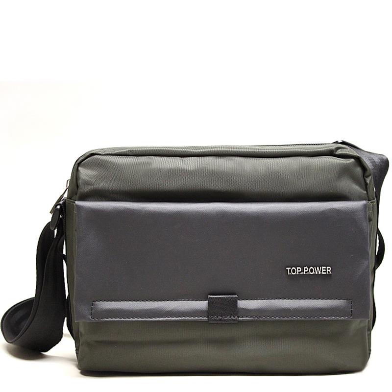 Сумка мужская Top Power, цвет: хаки, черный. 23092309 TP khakiМужская сумка Top Power сумка закрывается на застежку-молнию. Вшитый регулируемый плечевой ремень. Удобные и стильные сумки Top Power призваны подчеркнуть ваш неповторимый стиль.