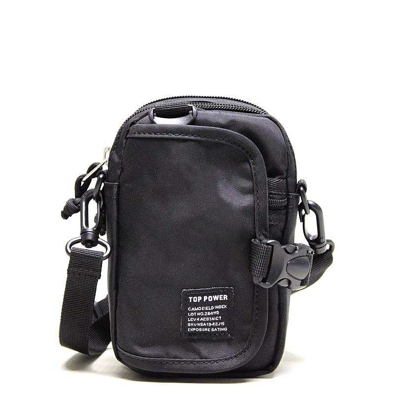 Сумка мужская Top Power, цвет: черный. 23242324 TP blackМужская сумка Top Power сумка закрывается на застежку-молнию. Вшитый регулируемый плечевой ремень. Удобные и стильные сумки Top Power призваны подчеркнуть ваш неповторимый стиль.