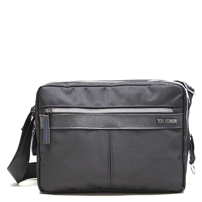 Сумка мужская Top Power, цвет: черный. 23312331 TP blackМужская сумка Top Power сумка закрывается на застежку-молнию. Вшитый регулируемый плечевой ремень. Удобные и стильные сумки Top Power призваны подчеркнуть ваш неповторимый стиль.