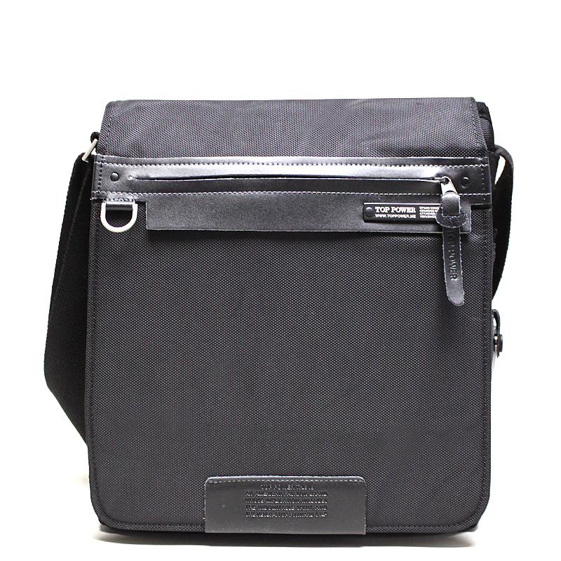Сумка мужская Top Power, цвет: черный. 641641 TP blackМужская сумка Top Power сумка закрывается на застежку-молнию. Вшитый регулируемый плечевой ремень. Удобные и стильные сумки Top Power призваны подчеркнуть ваш неповторимый стиль.
